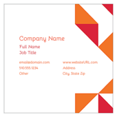 Geometric Fun - business-cards Maker