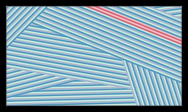 Stripes back - Business Cards Maker
