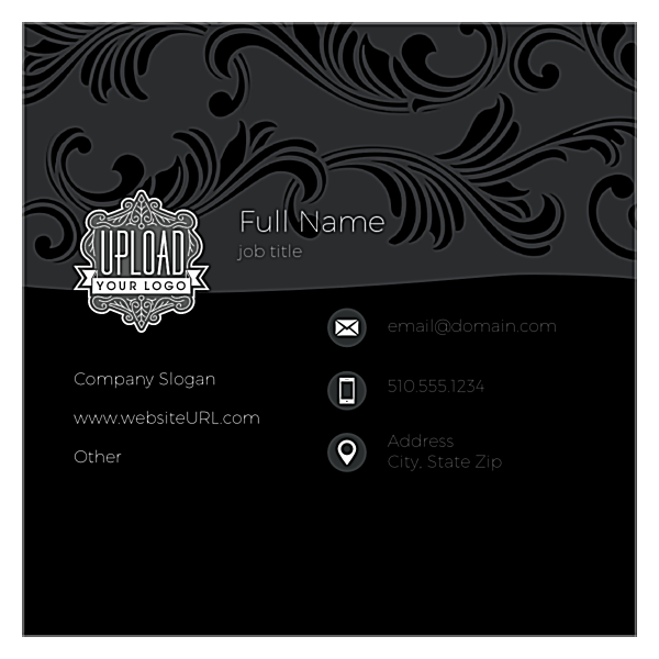 Swirl the Wine front - Business Cards Maker
