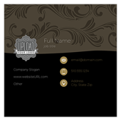 Swirl the Wine - business-cards Maker
