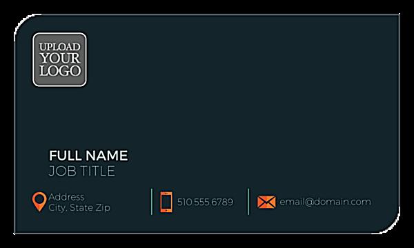 Logo Layout front - Business Cards Maker