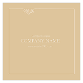Polished Correspondence - business-cards Maker