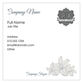 Flowers - business-cards Maker