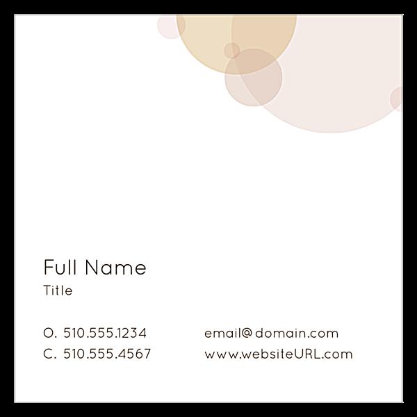 Speckles back - Business Cards Maker