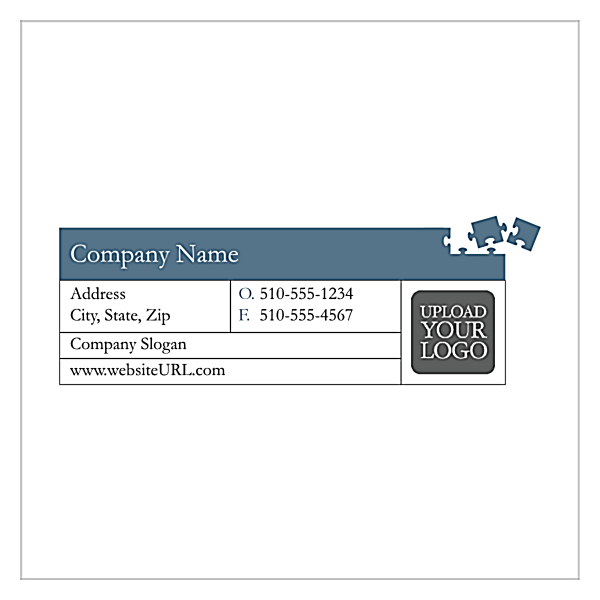 Piece The Puzzle front - Business Cards Maker