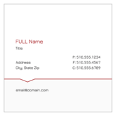 Line Dip - business-cards Maker