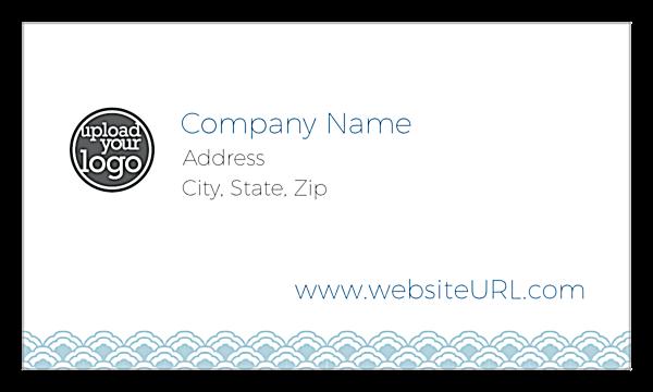 Oriental Trim front - Business Cards Maker