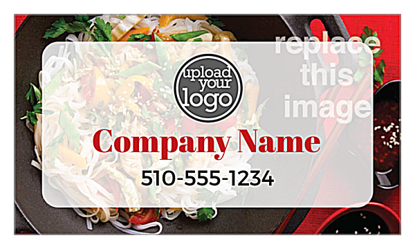 What's Cookin'? front - Business Cards Maker