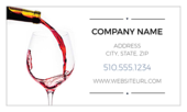 Let The Wine Flow - business-cards Maker