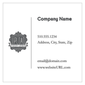 Soft Blue Retail - business-cards Maker