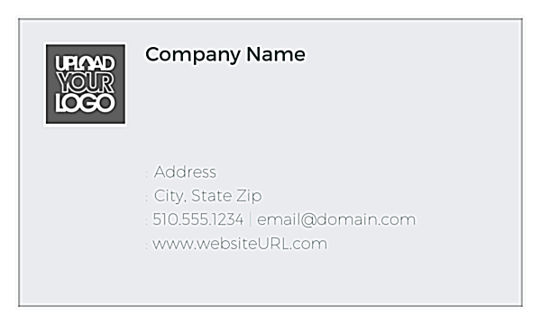 Level Faders front - Business Cards Maker