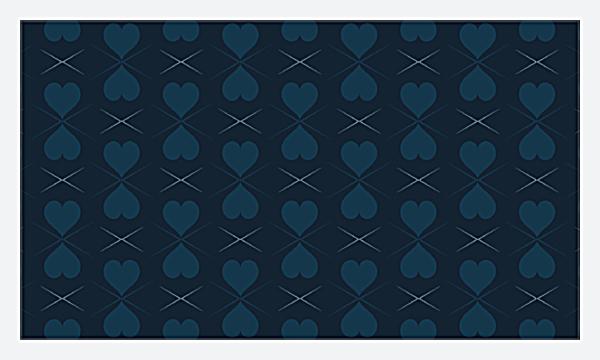 Pattern of Hearts back - Business Cards Maker