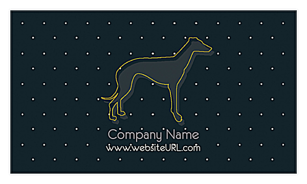 Couture Pets front - Business Cards Maker