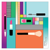 Pop Makeup - business-cards Maker