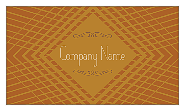 Diamond Effect front - Business Cards Maker