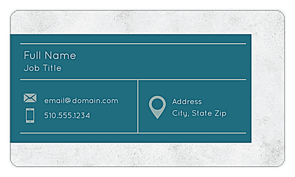 Granite Tab front - Business Cards Maker