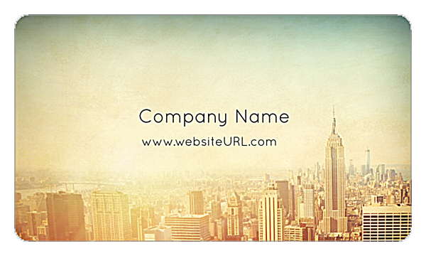 Cityscape Dream front - Business Cards Maker