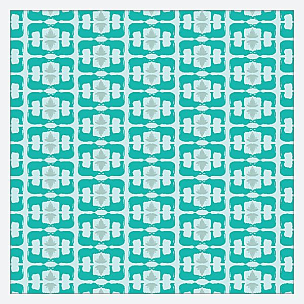 Elephant Textile back - Business Cards Maker