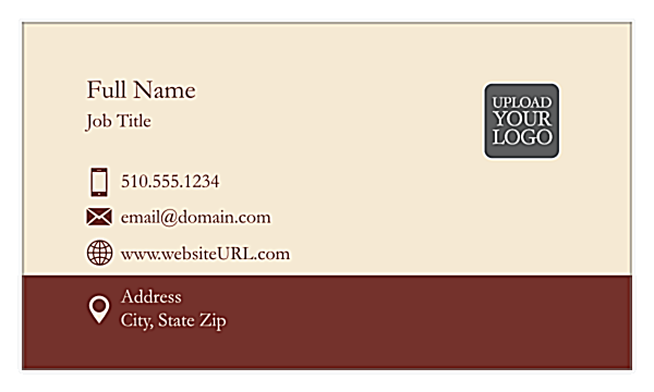 Linear Tradition front - Business Cards Maker