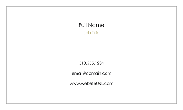 Print Business Cards with Our Triptych Design Template front - Business Cards Maker