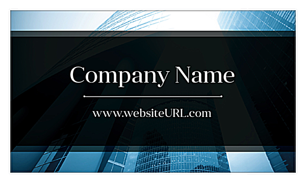 Corporate Buzz back - Business Cards Maker
