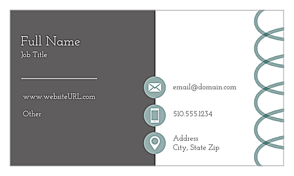Personalize The Bear Necessity Online Business Card Design