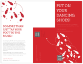 Dancing Shoes - brochures Maker