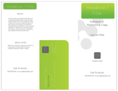 Traditional Green - brochures Maker