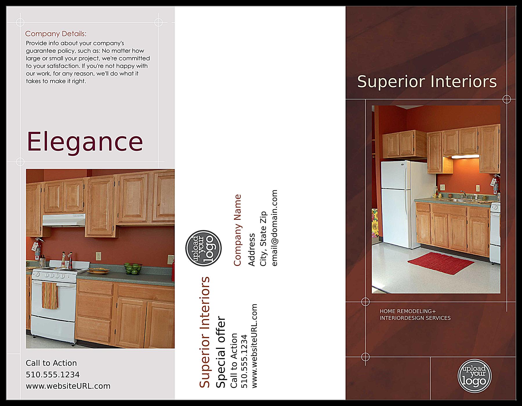 Remodel Home front - Brochures Maker