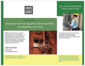 Electrical Service - brochures Maker