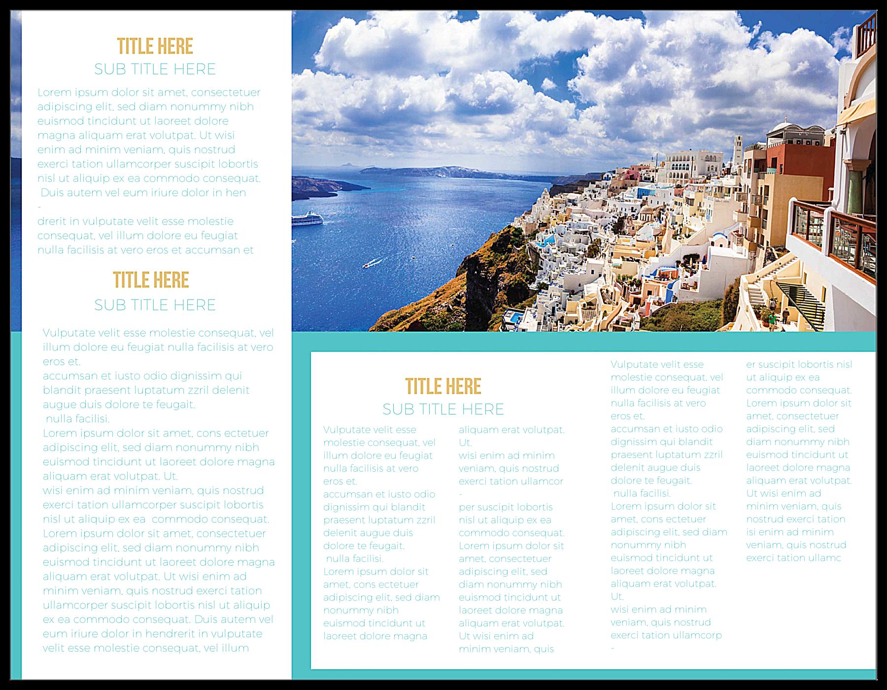 Discover back - Brochures Maker