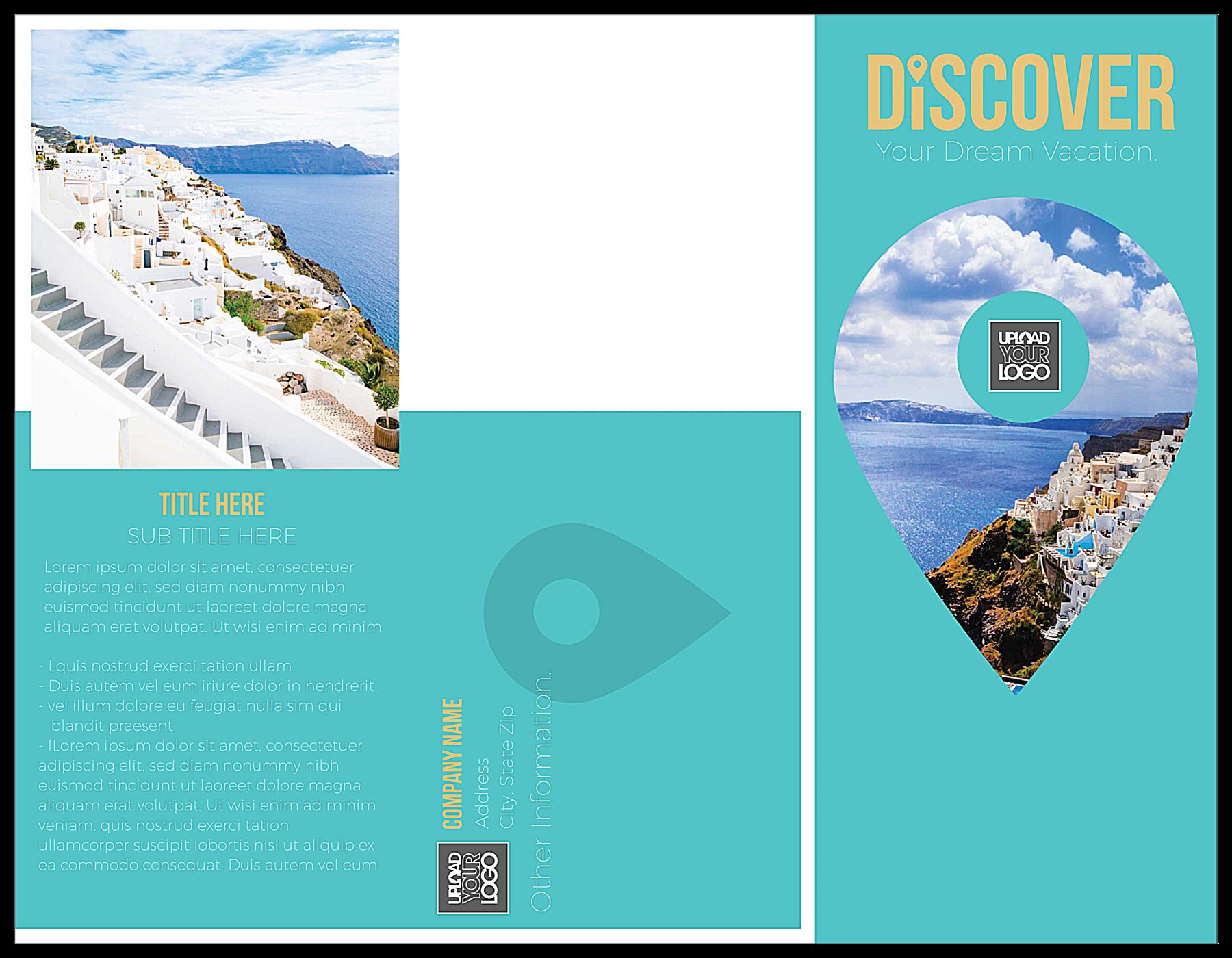 Discover front - Brochures Maker