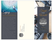 Travel the World - brochures Maker