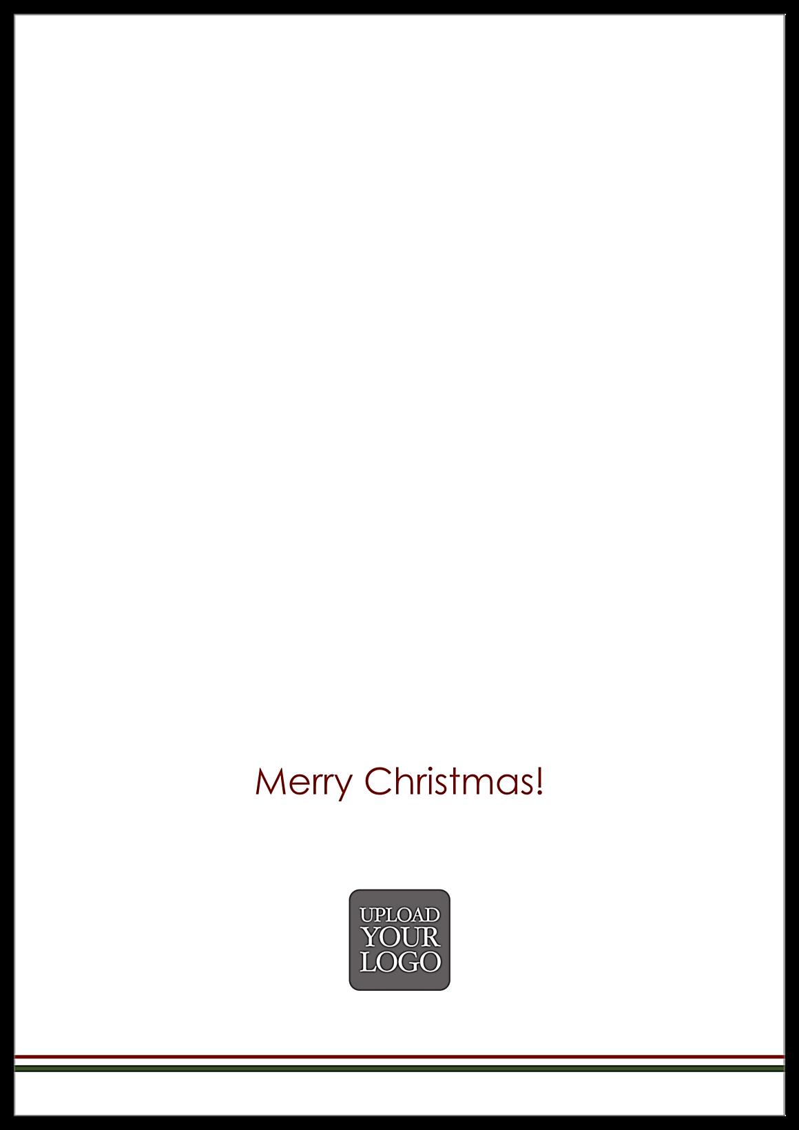 Swirl Reindeer back - Greeting Cards Maker