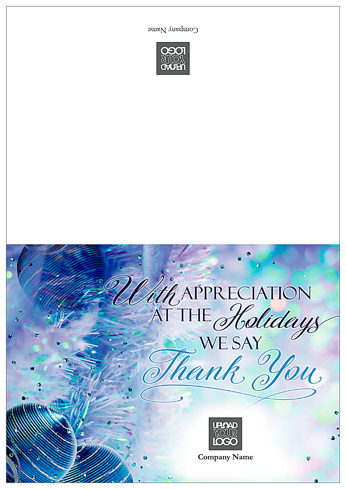 Thank You Garlands front - Greeting Cards Maker
