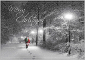 Snowy Merry Christmas - greeting-cards Maker