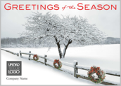 Snowy Wreaths - greeting-cards Maker