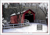 Seasons Greeting Bridge - greeting-cards Maker
