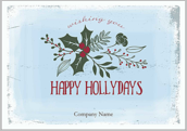Holiday Missletoe - greeting-cards Maker