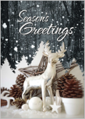Snow Deer - greeting-cards Maker