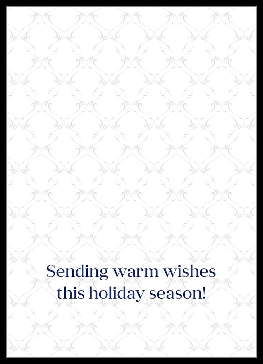 Menorah back - Greeting Cards Maker