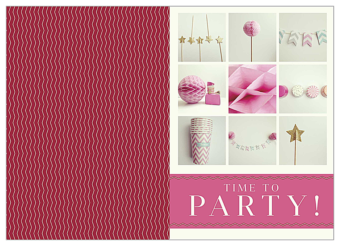Party Props front - Greeting Cards Maker