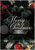 Merry Ornament - greeting-cards Maker