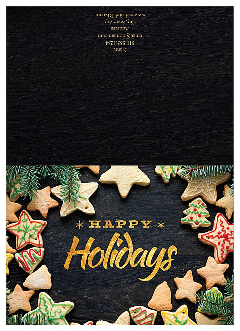 Many Cookie Returns front - Greeting Cards Maker