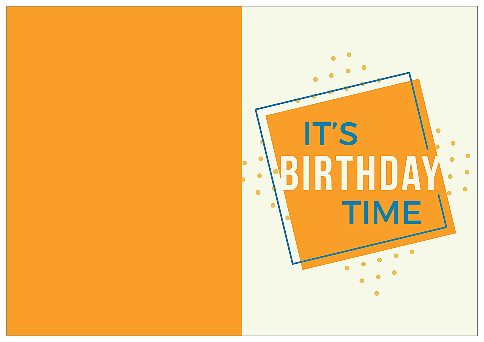 Fun Birthday front - Greeting Cards Maker