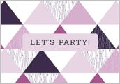 Triangle Party - greeting-cards Maker