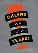 Cheers the Years - greeting-cards Maker