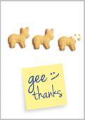 Gee Thank You - greeting-cards Maker