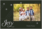 Snowflake Joy - greeting-cards Maker