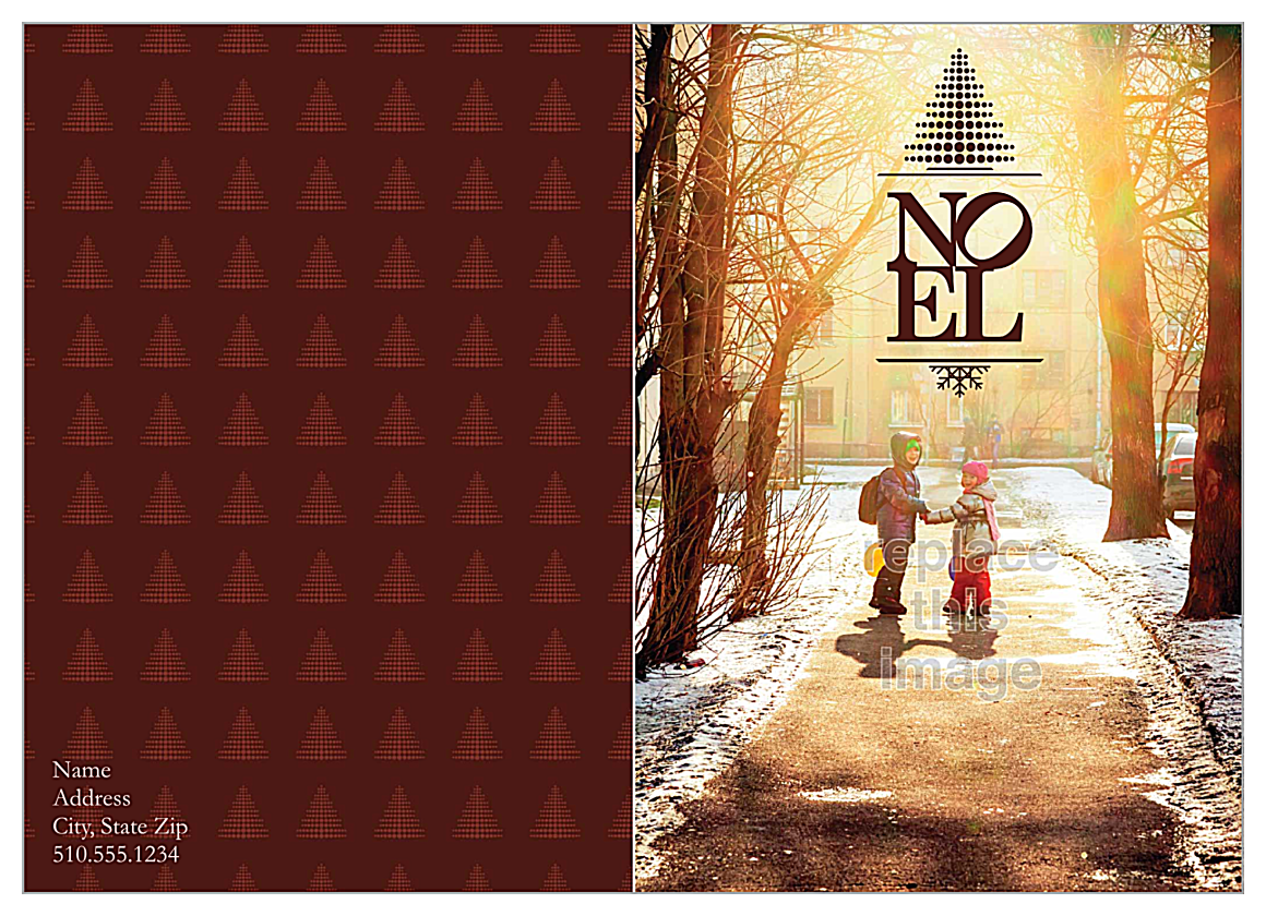 Noel Image front - Greeting Cards Maker
